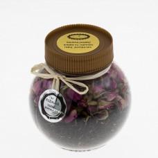 Rožinių rožių juodoji ceilono arbata