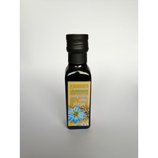 Cold-pressed black grain seed oil